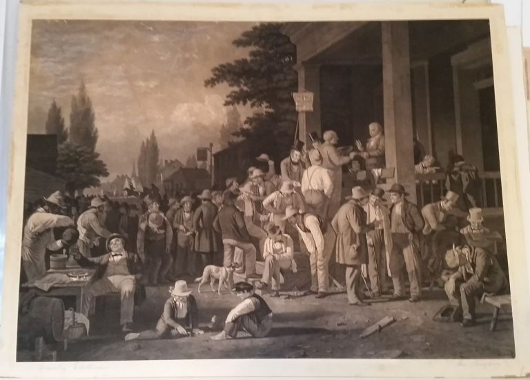 The Country Election. George Caleb Bingham.