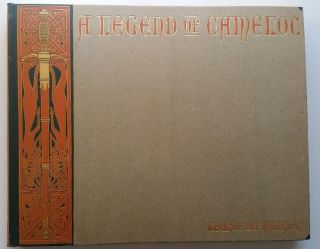 A Legend of Camelot, Pictures and Poems. George Du Maurier