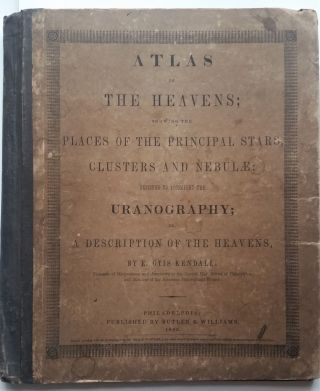Atlas of the Heavens; showing the Places of the Principal Stars, Clusters and Nebulae; Designed...