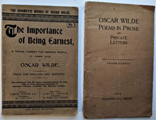 The Importance of Being Earnest, a Trivial Comedy for Serious People, in Three Acts. London and...