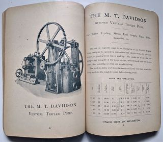 Improved Steam Pumps, Pumping Engines and Hydraulic Machinery, Air Pumps, Condensers,...