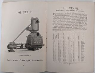 The Deane Steam and Power Pumps and Pumping Machinery