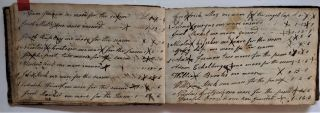 Account Book, 1803-24. Manuscript Account Book, Jacob Eichelberger