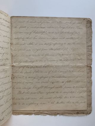 Last illness and death of Mary Emlen Newbold as Recorded in Writing by her Brother James Emlen. with: The Death Bed Testimony of William Williams, Society of Friends Minister.