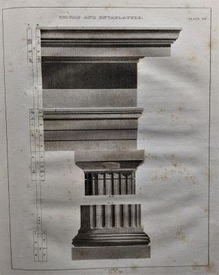 Practice of Architecture. Containing the Five Orders of Architecture, and an Additional Column...
