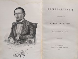 Trifles in Verse: A Collection of Fugitive Poems. Lewis J. Cist