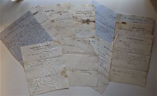 Banking Documents of John A. Rasbach, Some Dealing with E. Remington & Sons of Herkimer, New...
