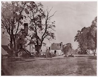 Headquarters of Capt. H. B. Blood, A.Q.M. Civil War Photography, Andrew Joseph Russell