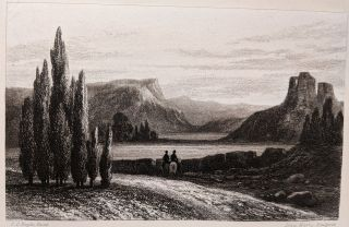 Ten Mezzo-tinto Engravings from Original Drawings. Dedicated by Permission to Her Majesty Adelaide the Queen Dowager by Her Majesty's Dutiful, Grateful & Affectionate Servant Carolina Courtenay Boyle. Engraved by Louis Marvy.
