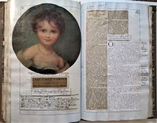 Catalogue of Painting by Thomas Lawrence 1882. [and a history of their exhibition and sale].